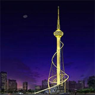 Sơn Đông chiếu sáng kỹ thuật: Lâm Nghi Tháp